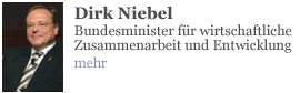 Dirk Niebel