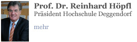 Prof. Dr. Reinhard Hpfl